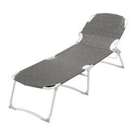 Brunner Kerry Duna Grand Camp Bed countour carbon grey